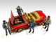 Auto Mechanics Figurines 4 piece Set 1/24 Scale Models American Diorama 76359 76360 76361 76362