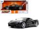 2020 Chevrolet Corvette Stingray C8 Glossy Black Bigtime Muscle 1/24 Diecast Model Car Jada 32284