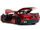 2020 Chevrolet Corvette Stingray C8 Candy Red Bigtime Muscle 1/24 Diecast Model Car Jada 32538