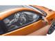 Honda NSX RHD Right Hand Drive Orange Metallic Carbon Top 1/18 Model Car Kyosho KSR18023P