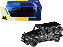 Mercedes AMG G63 Liberty Walk Wagon Black 1/64 Diecast Model Car Paragon PA-55163