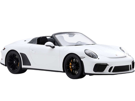 2019 Porsche 911 Speedster White 1/18 Model Car Spark 18S466