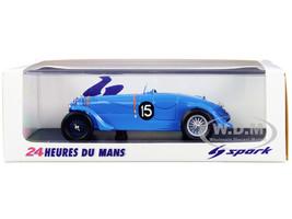 Delahaye 135S #15 Jean Tremoulet Eugene Chaboud Winner 24 Hours Le Mans 1938 1/43 Model Car Spark 43LM38