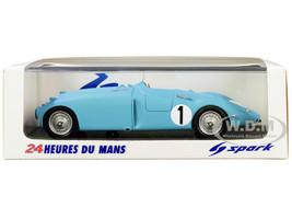 Bugatti 57 C #1 Jean-Pierre Wimille Pierre Veyron Winner 24 Hours Le Mans 1939 1/43 Model Car Spark 43LM39