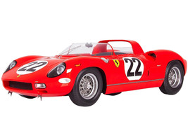 Ferrari 250 P #22 24 Hours Le Mans 1963 1/18 Model Car LookSmart LS18LM07