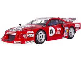 Ferrari 308 GTB Turbo #18 Facetti Finotto 6H Silverstone 1981 Mythos Series Limited Edition 100 pieces Worldwide 1/18 Model Car Tecnomodel TM18-100C