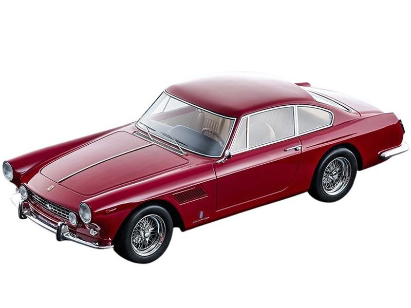 1962 Ferrari 250 GTE 2+2 Rosso Corsa Red Mythos Series Limited Edition 160 pieces Worldwide 1/18 Model Car Tecnomodel TM18-102A