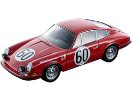 Porsche 911S #60 Andre Wicky Philippe Farjon 24 Hours Le Mans 1967 Mythos Series Limited Edition 85 pieces Worldwide 1/18 Model Car Tecnomodel TM18-146B