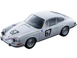 Porsche 911S #67 Pierre Boutin Patrice Sanson 24 Hours Le Mans 1967 Mythos Series Limited Edition 75 pieces Worldwide 1/18 Model Car Tecnomodel TM18-146C