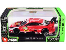 Audi RS 5 #33 Rene Rast DTM Deutsche Tourenwagen Masters 2018 Race Car Series 1/32 Diecast Model Car Bburago 41150