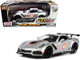 2019 Chevrolet Corvette ZR1 #2 Silver Black Orange Stripes GT Racing Series 1/24 Diecast Model Car Motormax 73785