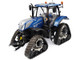New Holland T7.225 Blue Power Tractor Tracks 1/32 Diecast Model Universal Hobbies UH5365