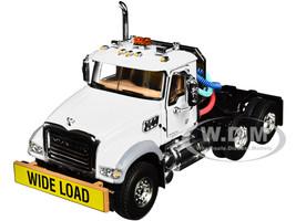 Mack Granite MP Engine Series Truck Tractor White 1/50 Diecast Model First Gear 50-3115C
