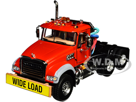 Mack Granite MP Engine Series Truck Tractor Red 1/50 Diecast Model First Gear 50-3117C