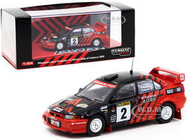 Mitsubishi Lancer Evolution VI #2 Kataoka Hayashi Advan Winner Rally Canberra 1999 1/64 Diecast Model Car Tarmac Works T64-021-ADV