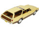 1969 Oldsmobile Vista Cruiser Roof Rack Safron Yellow Wood Paneling Limited Edition 230 pieces Worldwide 1/43 Model Car Goldvarg Collection GC-040 B