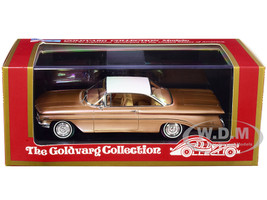 1960 Oldsmobile Copper Mist Metallic White Top Limited Edition 220 pieces Worldwide 1/43 Model Car Goldvarg Collection GC-021 A