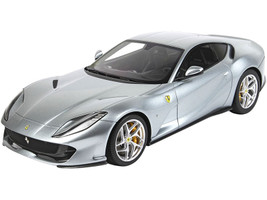 2017 Ferrari 812 Superfast Grigio Titanio Titanium Gray DISPLAY CASE Limited Edition 32 pieces Worldwide 1/18 Model Car BBR P18147F