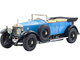 Rolls Royce Phantom I Light Blue Black Top 1/18 Diecast Model Car Kyosho 08931 LB