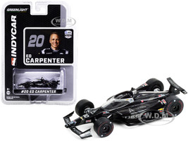 Dallara IndyCar #20 Ed Carpenter United States Space Force USSF NTT IndyCar Series 2020 1/64 Diecast Model Car Greenlight 10886
