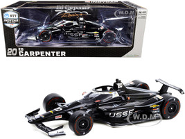 Dallara IndyCar #20 Ed Carpenter United States Space Force USSF NTT IndyCar Series 2020 1/18 Diecast Model Car Greenlight 11102