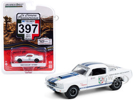 1965 Ford Mustang Shelby GT350 #397 Palmyra Motorsport Rally Mexico 2011 La Carrera Panamericana Series 3 1/64 Diecast Model Car Greenlight 13280 C