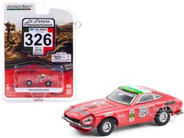 1974 Datsun 260Z #326 Seman Baker Rally Mexico 2010 La Carrera Panamericana Series 3 1/64 Diecast Model Car Greenlight 13280 D