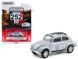 Classic Volkswagen Beetle #252 Rally Mexico 2009 La Carrera Panamericana Series 3 1/64 Diecast Model Car Greenlight 13280 E