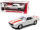 1969 Chevrolet Camaro SS Z10 Pace Car Coupe White Orange Stripes Black Houndstooth Interior 1/18 Diecast Model Car Highway 61 18026