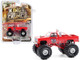 1984 Chevrolet Silverado Monster Truck Samson I Red Kings of Crunch Series 8 1/64 Diecast Model Car Greenlight 49080 E
