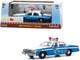 1986 Chevrolet Caprice Blue White Police Car Home Alone 1990 Movie 1/43 Diecast Model Car Greenlight 86585