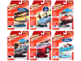 Classic Gold Collection 2020 Set A 6 Cars Release 3 Limited Edition 2000 pieces Worldwide 1/64 Diecast Model Cars Johnny Lightning JLCG023 A