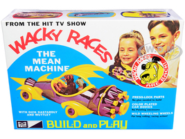 Skill 2 Snap Model Kit The Mean Machine Dick Dastardly Muttley Figurines Wacky Races 1968 TV Series 1/25 Scale Model MPC MPC935