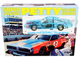 Skill 3 Model Kit 1973 Dodge Charger Richard Petty 1/16 Scale Model MPC MPC938