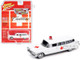 1959 Cadillac Ambulance White Special Edition Limited Edition 3600 pieces Worldwide 1/64 Diecast Model Car Johnny Lightning JLCP7350