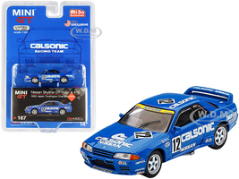 Nissan Skyline GT-R Gr. A RHD Right Hand Drive #12 Calsonic Japan Touring Car Championship JTCC 1992 Limited Edition 1200 pieces Worldwide 1/64 Diecast Model Car True Scale Miniatures MGT00167