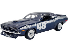 1970 Plymouth Barracuda AAR 'Cuda #48 Pilot Car Limited Edition 562 pieces Worldwide 1/18 Diecast Model Car ACME A1806119
