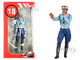 1975 1980 Paul French Police Motorcycle Officer Figurine 1/18 Scale Models Le Mans Miniatures 118036-P2