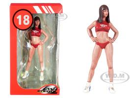 2000's Dorothy Miss Hawaiian Tropic Figurine 1/18 Scale Models Le Mans Miniatures 118037-P2