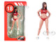 2000's Dorothy Miss Hawaiian Tropic Figurine 1/18 Scale Models Le Mans Miniatures 118037-P2