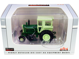 Oliver 1755 Tractor Cab Dark Green Light Green Top 1/64 Diecast Model SpecCast SCT764