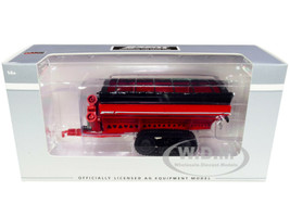 Brent Avalanche 1196 Grain Cart Tracks Red 1/64 Diecast Model SpecCast UBC003
