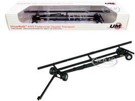 Unverferth AWS Fieldrunner Header Transport Black 1/64 Diecast Model SpecCast UBC006
