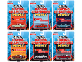 Mint 2020 Release 1 6 piece Set Limited Edition 2000 pieces Worldwide 1/64 Diecast Model Cars Racing Champions RC012