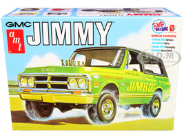 Skill 2 Model Kit 1972 GMC Jimmy Pickup Truck 2-in-1 Kit 1/25 Scale Model AMT AMT1219