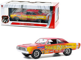 1969 Dodge Dart 340 Swinger Car Craft Project Car 1/18 Diecast Model Car Highway 61 18024
