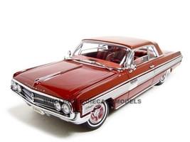 1962 Oldsmobile Starfire Garnet/Red 1/18 Diecast Car Model Road Signature 20208