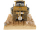 CAT Caterpillar D9T Weathered Track Type Tractor Operator Weathered Series 1/50 Diecast Model Diecast Masters 85702