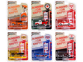 Running on Empty 6 piece Set Series 12 1/64 Diecast Model Cars Greenlight 41120