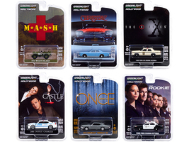 Hollywood Series Set 6 pieces Release 30 1/64 Diecast Model Cars Greenlight 44900
